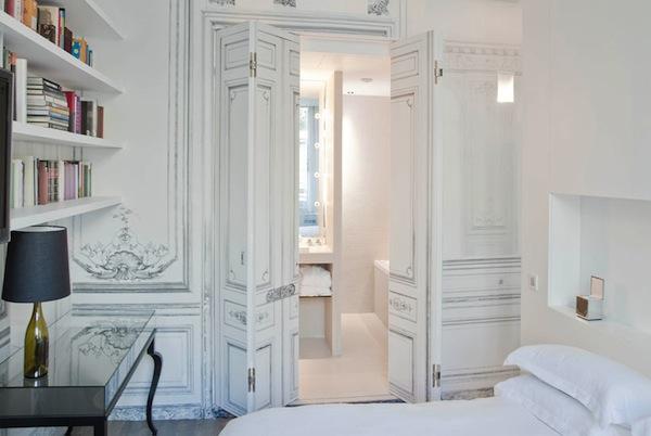 Understated trompe l 39 oeil jason lees design - La maison champs elysees hotel ...
